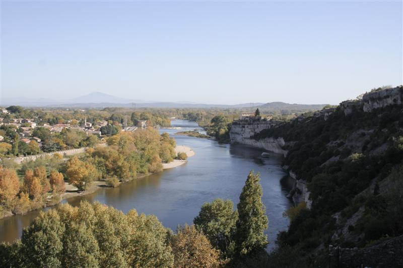 Saint Martin d'Ardèche depuis Aiguèze